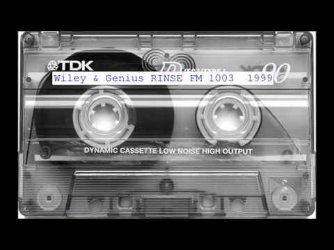 Wiley & Genius - 1999 Drum & Bass - RINSE FM 1003 London Radio