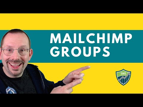 How to Create Groups in Mailchimp