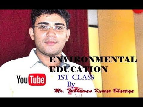 Environmental Education in Hindi 1st Class