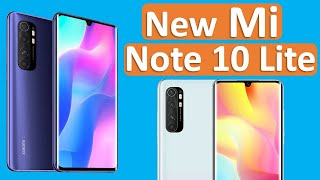Mi Note 10 Lite, Mi Note 10 Lite full specification, Mi Note 10 Lite globally launched
