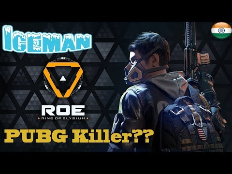 Iceman: Ring Of Elysium Live Stream \\ Better Than PUBG ??