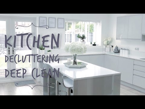 KITCHEN DECLUTTER 2018 ] ORGANISING KITCHEN CUPBOARDS TONI INTERIOR