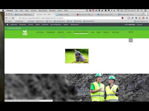 DUG - Context aan uw site toevoegen met Organic Groups