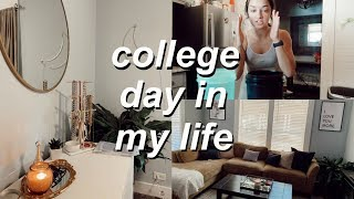 college day in my life: deep clean my house with me, getting personal, + more