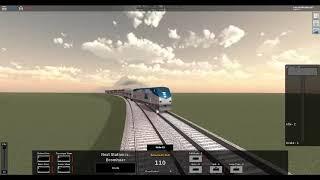 ROBLOX Rails Unlimited Amtrak Multi Track Drifting