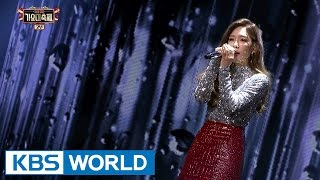 Cover images TAEYEON - Rain [2016 KBS Song Festival / 2017.01.01]