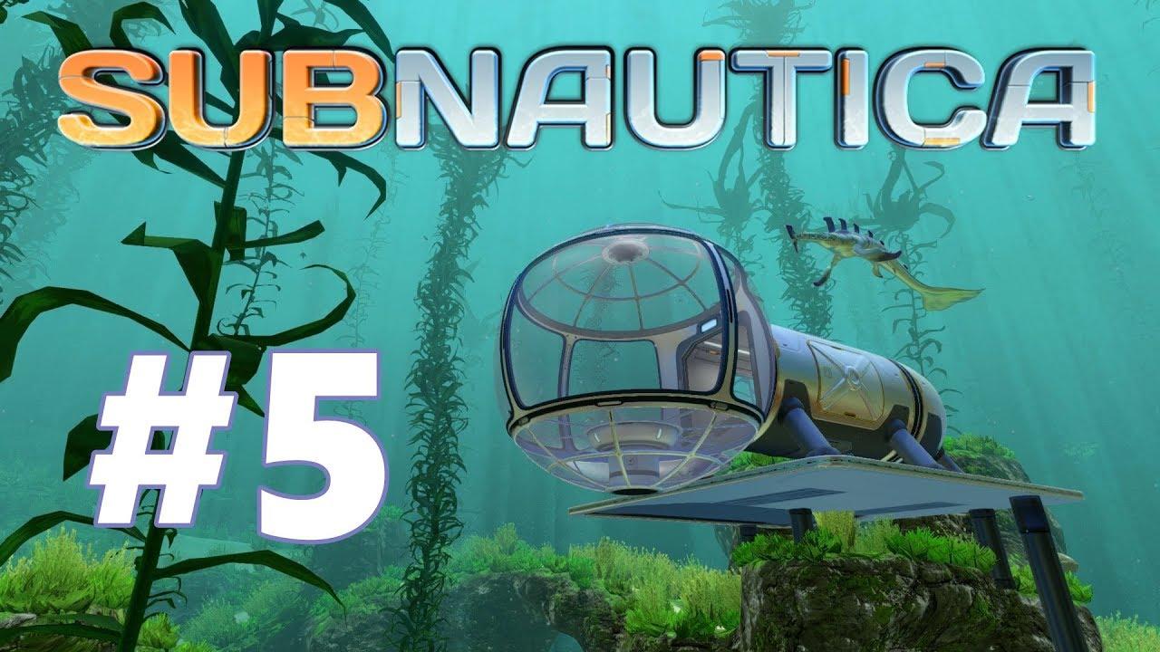 Subnautica Mobile Vehicle Bay Ep5 Gameplay Youtube