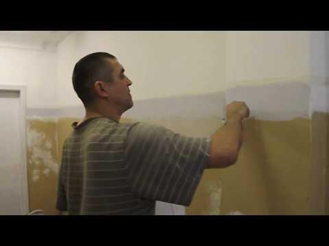 Как поклеить обои на крашеные стены масляной краской