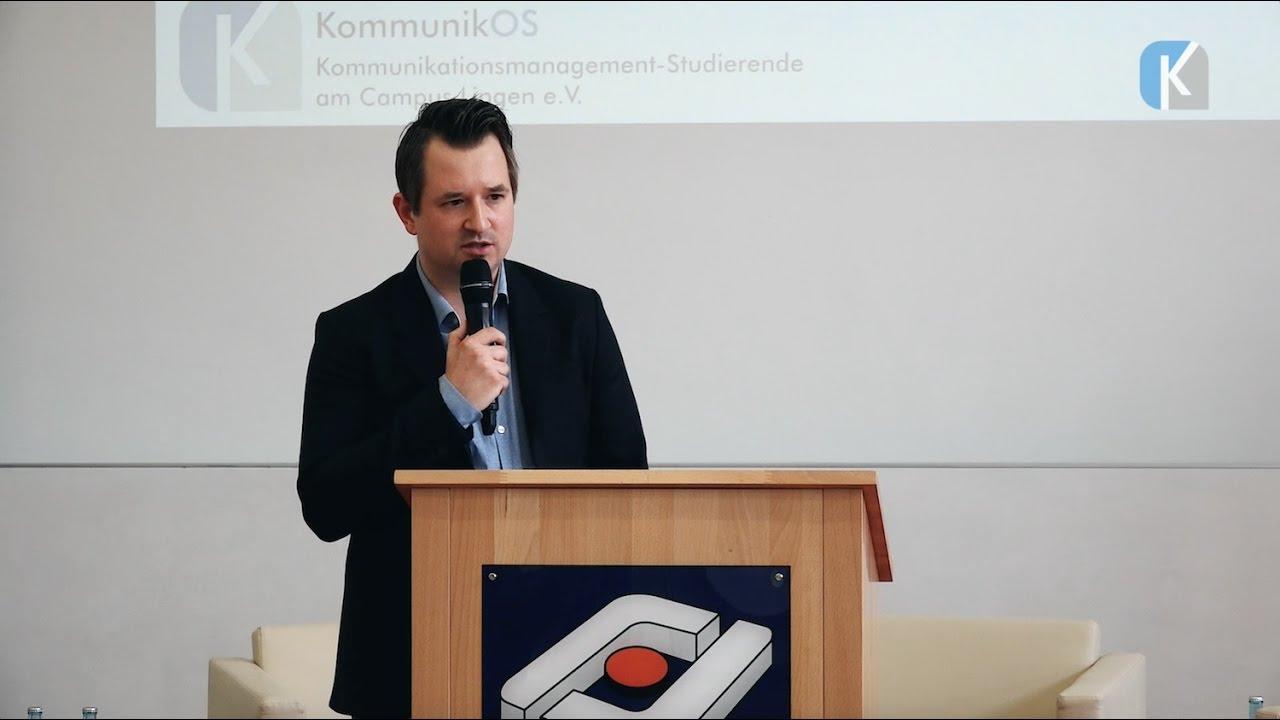 KommunikOS-Auftaktveranstaltung | Keynote: Nico Kunkel