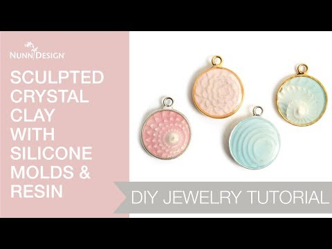 Make These Sculpted Clay with Silicone Molds & Resin. Full Tutorial