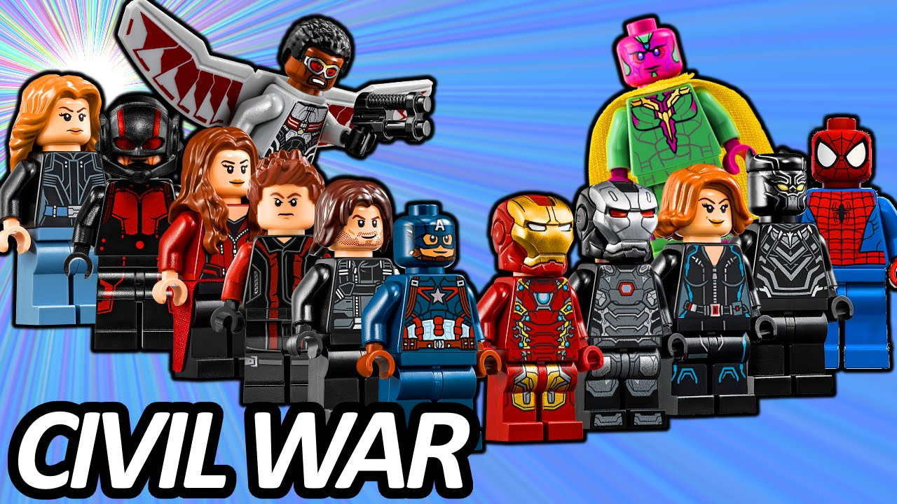 Top 13 Lego Avengers Minifigures In Captain America Civil War 75157 Star Wars Rexamp039s At Te Lists Youtube