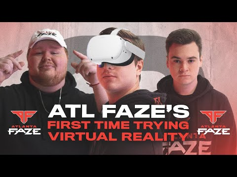 ATLANTA FAZE PLAYS VIRTUAL REALITY GAMES FOR THE FIRST TIME
