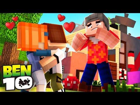 Minecraft: WHO'S YOUR FAMILY? - O BEBÊ BEN 10 BEIJOU A GWEN NA BOCA!