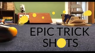 Ping-Pong Golf Trick Shots!