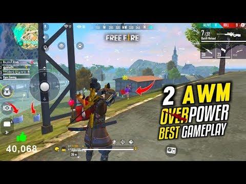 Total 30 Kills Best 2 AWM Ajjubhai Gameplay - Garena Free Fire- Total Gaming