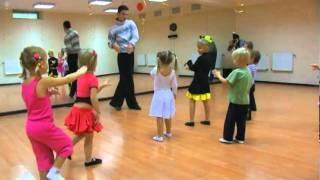 Бальные танцы (3-5 лет). Хореограф - Владимир Андрющенко