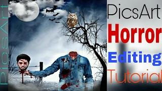 PicsArt Editing Tutorials  | Photo maniupulation |  PicsArt Horror Editing | picsart | screenshot 3