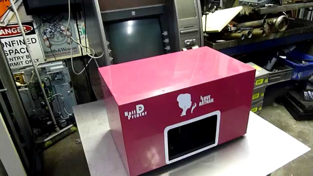 Finger Nail Art Printer Autopsy - YouTube