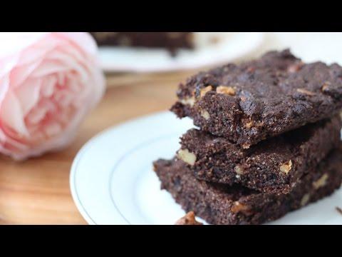recette-brownie-chocolat-et-purée-d'amande-healthy