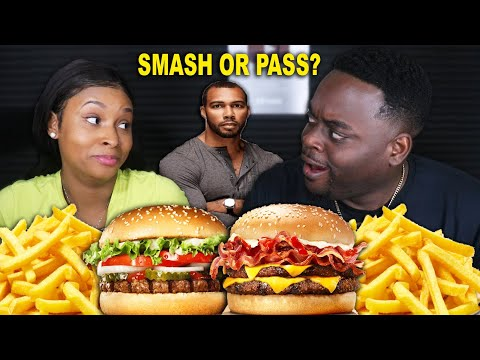 CHEESY BURGER KING MUKBANG FT QUEEN BEAST | SMASH OR PASS EDITION! | BEAST MODE