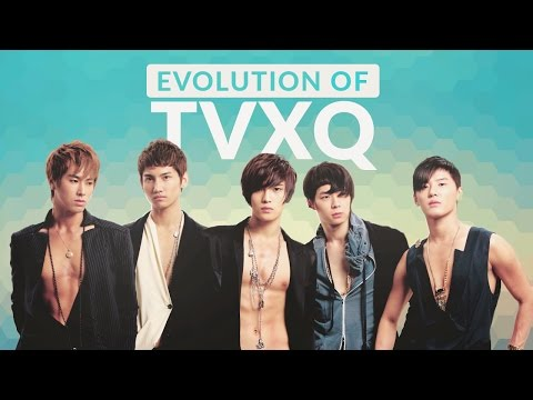 The Evolution of TVXQ (동방신기) - Tribute to K-POP LEGENDS