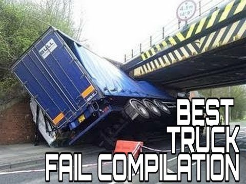BEST TRUCK FAIL COMPILATION || FUNNY FAIL || FAIL IN AUGUST 2017