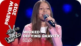 Wicked - Defying Gravity (Lilo) | PREVIEW | The Voice Kids 2019 | SAT.1