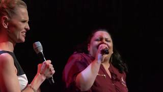 """Take Me or Leave Me"" - Keala Settle & Anika Larsen w/ Michael J Moritz Jr on Piano"