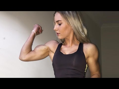 Beautiful young strong girl with huge biceps flexing and armwrestling compilation from YouTube · Duration:  7 minutes 4 seconds