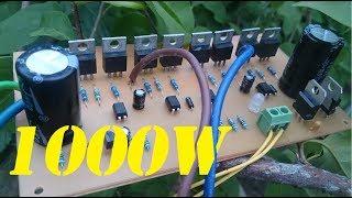 1000W inverter 12V to 220V | How to make