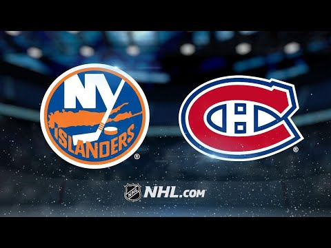 Drouin, Niemi power Canadiens past Islanders, 3-1