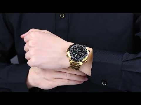 411a9aef6bb Relógio de Luxo Masculino A prova D agua 4 Modelos diferentes - YouTube