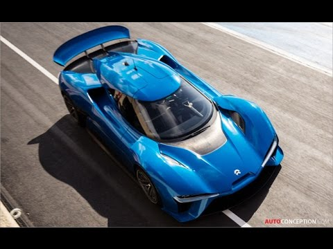 Car Design: NIO EP9 - the world's fastest electric car