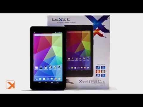 TeXet X-pad STYLE 7.1 3G - планшет хорошего вкуса