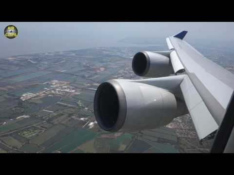Powerful Boeing 747-400 Takeoff: China Airlines Bangkok to Taipei, Skyteam colors!!! [AirClips]