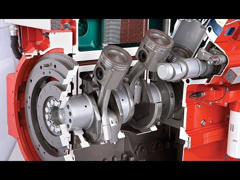 Germany Diesel Engine Resemble Method - Remanufacture the 46