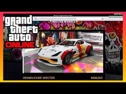 NEW GTA 5 ONLINE DEWBAUCHEE SPECTER SPORT CAR | GTAV Online Gameplay (PS4 PRO)