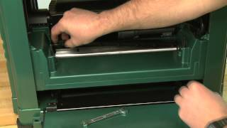 How-to Install Blades On A Portable Planer