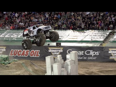 Monster Jam World Finals XIX (2018) Freestyle Encore: Rampage the Movie