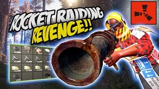 REVENGE WITH ROCKETS! - Rust CO-OP Survival Gameplay