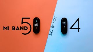 Mi Band 5 vs Mi Band 4 Review | Giveaway | Side by side Comparison