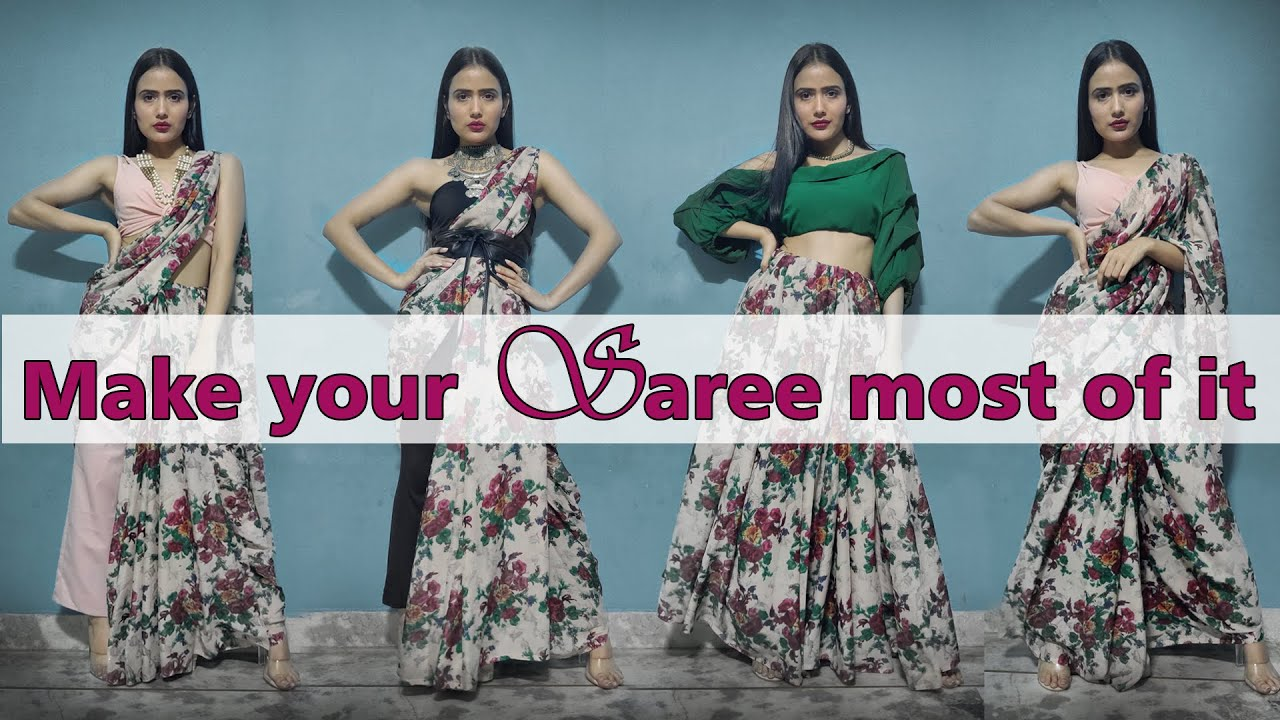 make your saree most of it