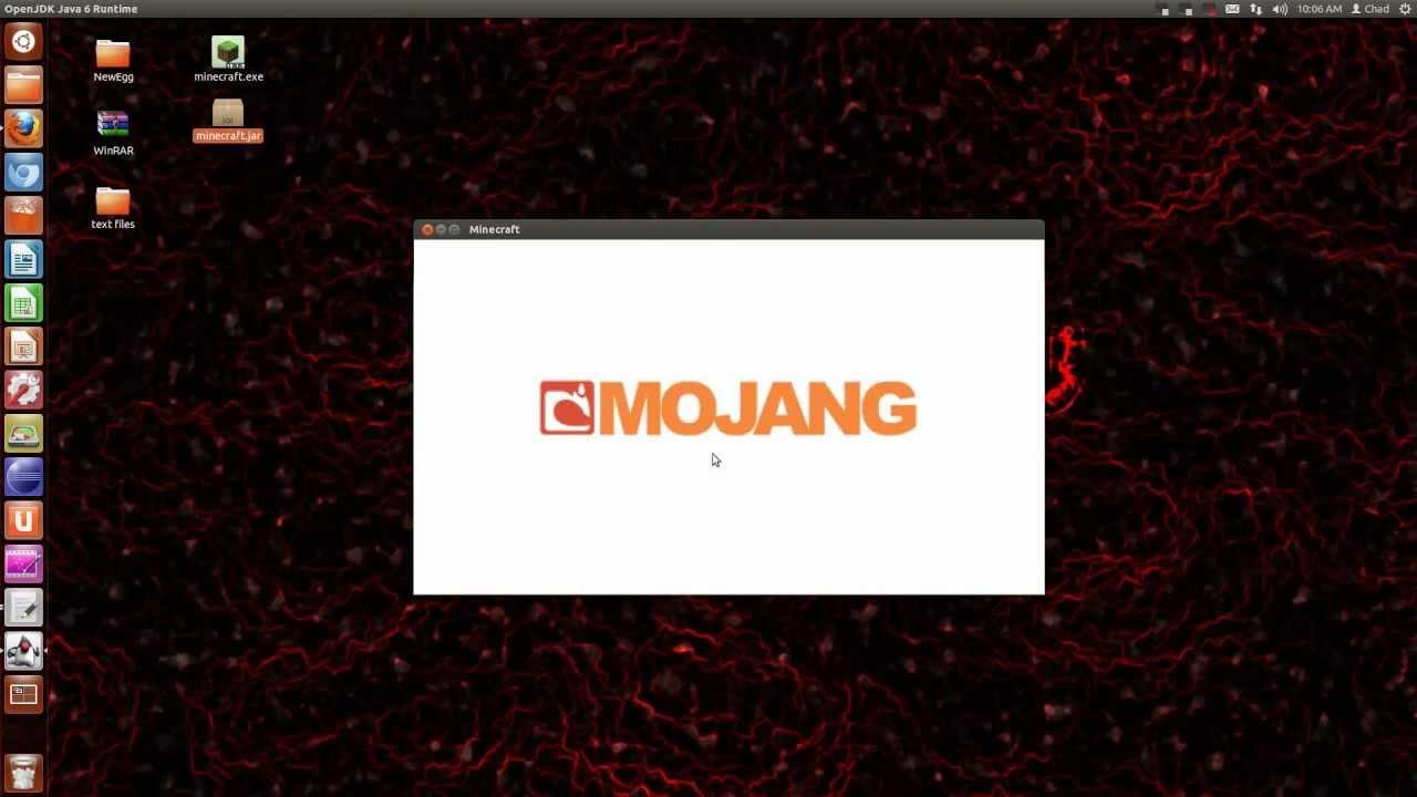minecraft black screen fix! linux!