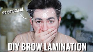 Download So I Just RUINED my Brows.... DIY Brow Lamination Mp3 and Videos