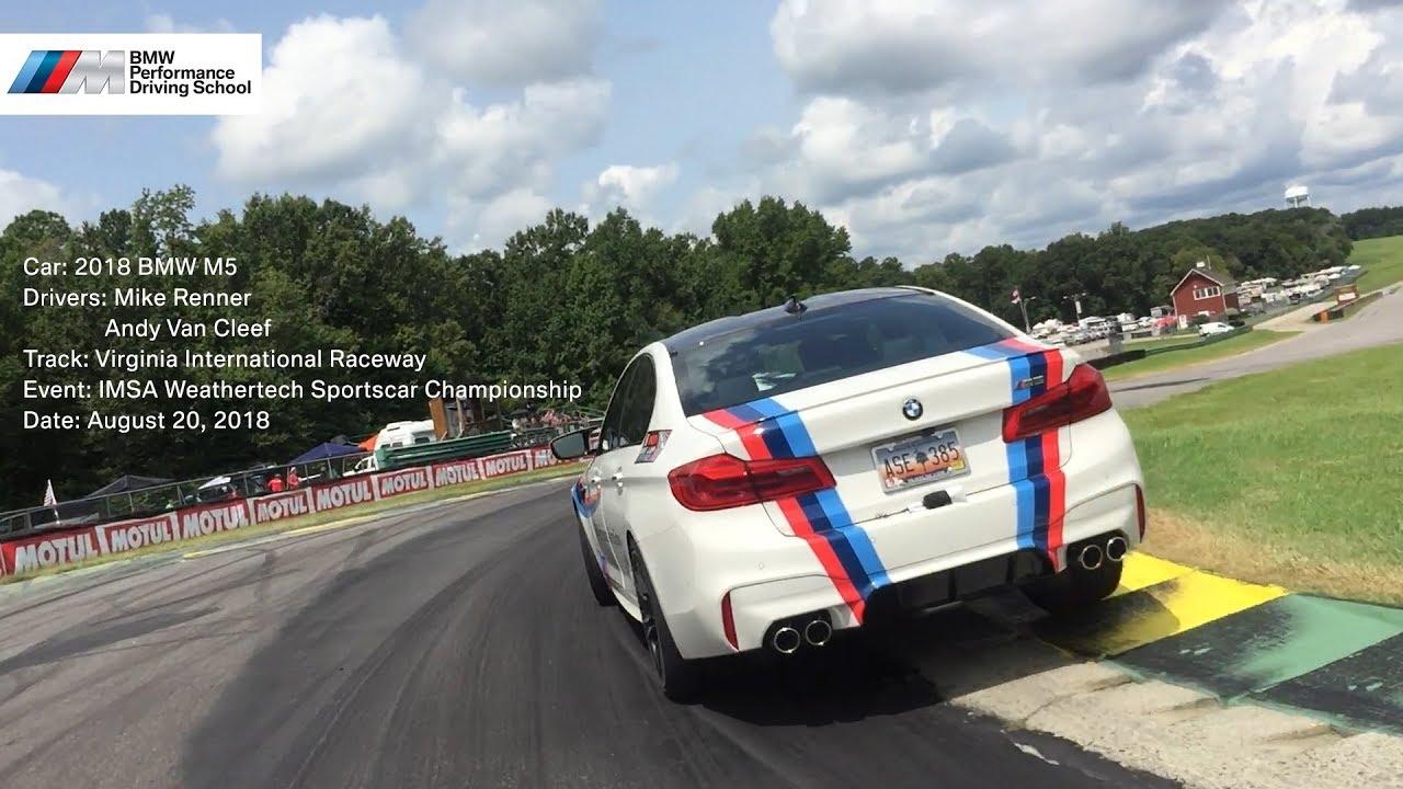 BMW Performance Driving School >> Bmw Performance Driving School M5 At Vir