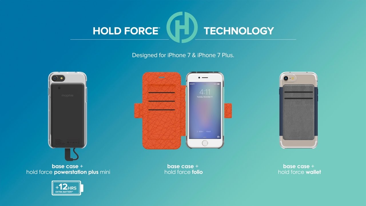 low priced 3a5c6 a9ab7 Mophie Launches Modular iPhone 7 Cases With Magnetic Wallet and ...