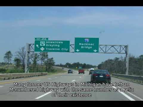 Michigan State Trunkline Highway System