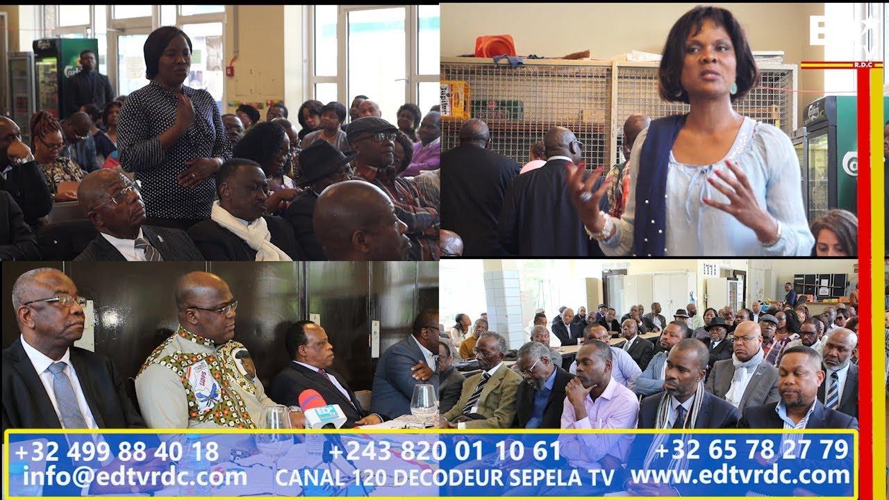 EN TOUTE FRANCHISE: LE PRÉSIDENT DE L'UDPS FACE A LA DIASPORA  (BELGIQUE)