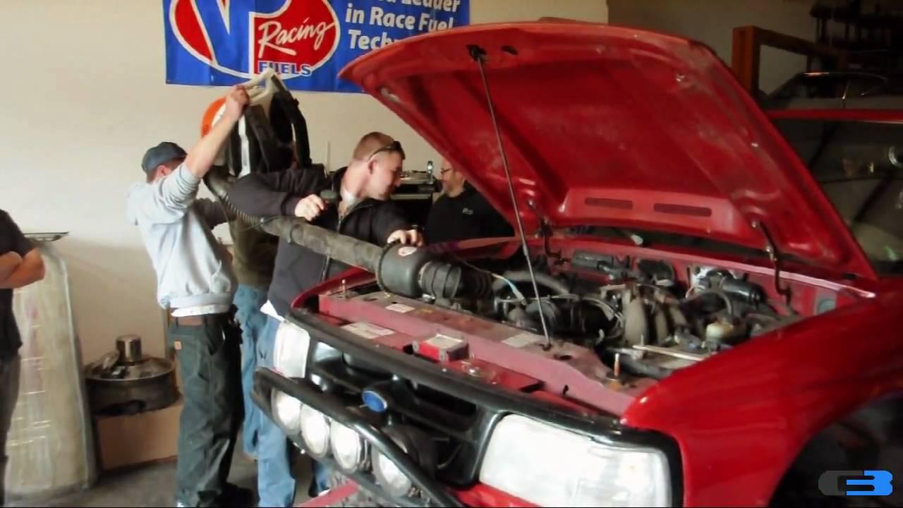 Leaf Blower Turbocharged Ford Ranger HUGE Power  YouTube