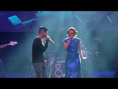 Ungu ft Stacy - Berteman Sepi live at Mozaik Tour 2015